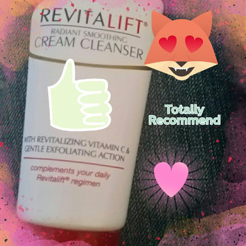 Photo of L'Oréal Paris RevitaLift® Radiant Smoothing Cream Cleanser uploaded by Natalie K.