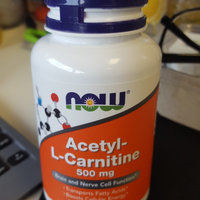 NOW Foods Acetyl-L Carnitine uploaded by Dina S.
