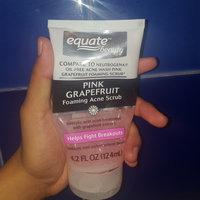 Equate Beauty Pink Grapefruit Foaming Acne Scrub, 4.2 fl oz uploaded by Diana M.