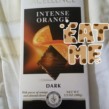 Lindt Excellence Intense Orange Dark Chocolate uploaded by Leidi R.