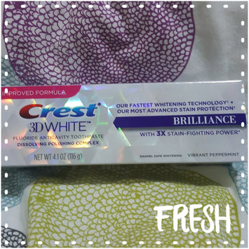 Crest 3D White Whitening Toothpaste Radiant Mint uploaded by Brinia E.