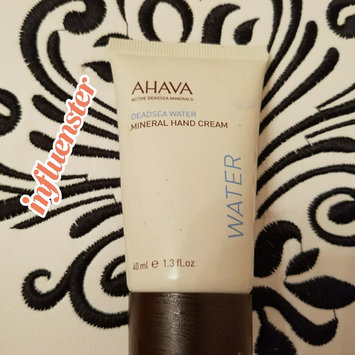 Photo of Ahava Deadsea Water Mineral Hand Cream 50pct More Limited Edition uploaded by Haley G.
