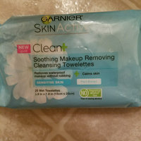 Garnier SkinActive Clean+ Soothing Remover Cleansing Towelettes for Sensitive Skin uploaded by Haley G.