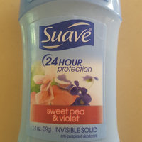 Suave® Sweet Pea & Violet Invisible Solid Anti-Perspirant Deodorant uploaded by Angelica C.