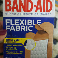 Band-Aid Flexible Fabric Bandages uploaded by Chaya K.