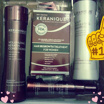 Photo of Keranique 4-Piece Hair Regrowth Treatment System uploaded by Kristen L.