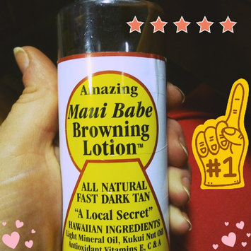 Maui Babe Browning Lotion uploaded by Kristen L.