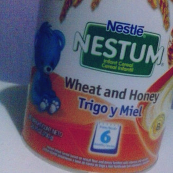 Nestlé® Nestum® Wheat & Honey Infant Cereal 10.5 oz. Canister uploaded by Roman D.