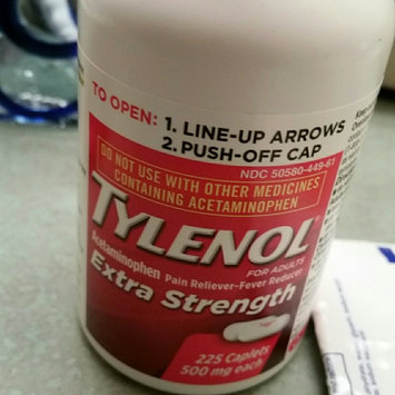 Photo of Tylenol Extra Strength Caplets - 225 CT uploaded by Paige B.