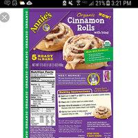Annie's® Organic Cinnamon Rolls with Icing uploaded by Tiffany W.