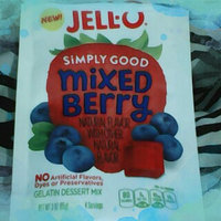 JELL-O Simply Good Mixed Berry Gelatin Dessert Mix uploaded by Faith M.