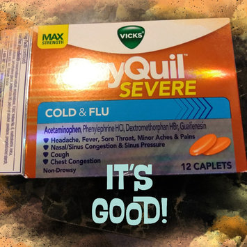 Vicks Dayquil Severe Cold & Flu Relief Caplets uploaded by Bev M.