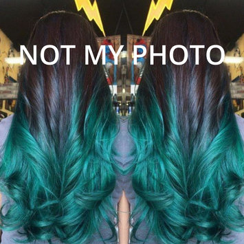 Photo uploaded to Ion Color Brilliance Brights Semi-Permanent Hair Color Aqua by Sydney S.