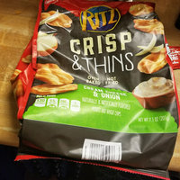 Nabisco RITZ Cream Cheese & Onion Crisp & Thins uploaded by Brooklyn D.