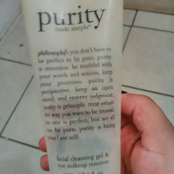 philosophy purity made simple one-step facial cleanser uploaded by Jessica G.