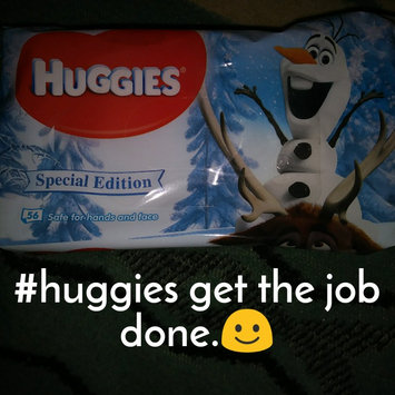 Photo of Huggies Soft Skin Baby Wipes with Shea Butter 64 Count Case of 6 uploaded by Jeanne K.