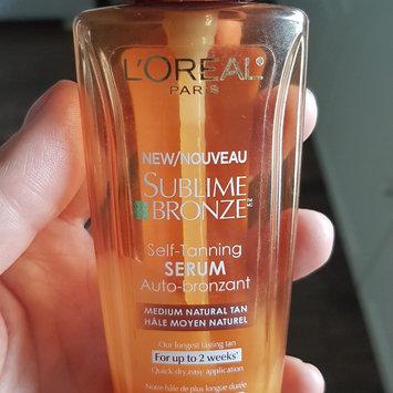 Photo of L'Oréal Paris Sublime Bronze Self-Tanning Serum uploaded by Jasmine M.