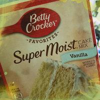 Betty Crocker Super Moist Vanilla Flavored Cake Mix uploaded by OnDeane J.