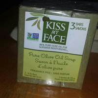 Kiss My Face 86% Pure Olive Oil Soap Fragrance Free - 3 CT uploaded by amreen s.