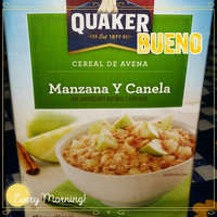 Quaker™ Apples & Cinnamon Instant Oatmeal uploaded by Milysen R.