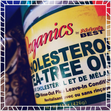 Photo of Africa's Best Africas Best Organics Cholesterol Teatree Conditioner 15oz Jar uploaded by Morenike K.