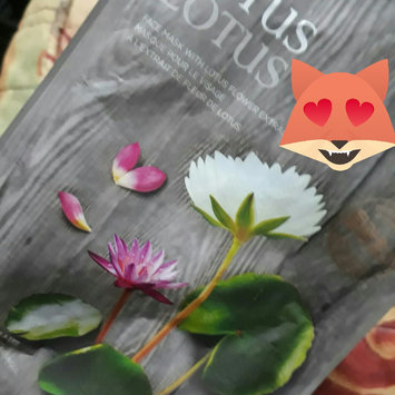 The Face Shop - Real Nature Lotus Mask Sheet 1pc 20g uploaded by Orietta A.