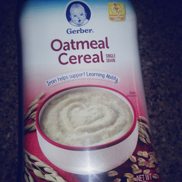 Photo of Gerber® Single Grain Baby Cereal | Oatmeal uploaded by Britney A.