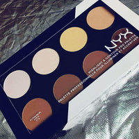 NYX Cosmetics Highlight & Contour Pro Palette uploaded by norah mohammad a.