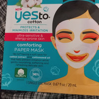 Yes to Cotton Ultra-Sensitive & Allergy Prone Skin Comforting Mask - 1 ct uploaded by Casey B.