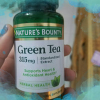 Nature's Bounty Herbal Capsules Green Tea Standardized Extract 315 mg - 100 CT uploaded by Tania B.