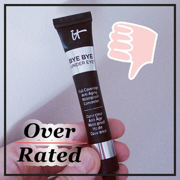 Photo of IT Cosmetics Bye Bye Under Eye(TM) Full Coverage Anti-Aging Waterproof Concealer Medium Tan 0.28 oz/ 8 mL uploaded by Alyssa C.