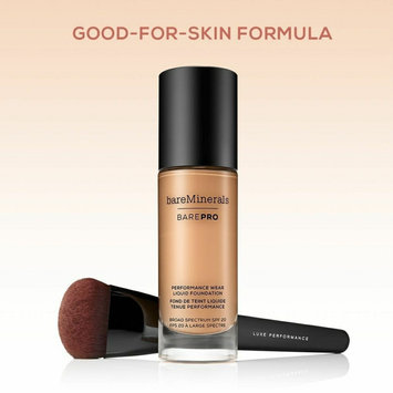 Bare Escentuals bare Minerals bare Skin(R) Pure Brightening Serum Foundation Broad Spectrum SPF 20 uploaded by ExoticAsianGoddess L.
