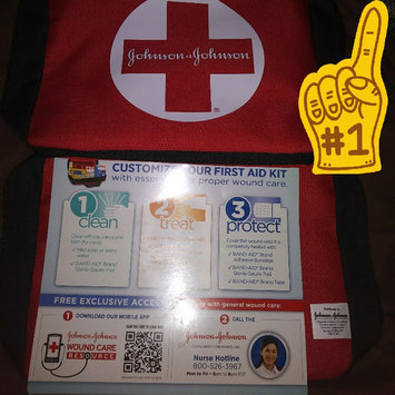 Photo of Johnson & Johnson Build Your Own First Aid Kit uploaded by Jeanne K.