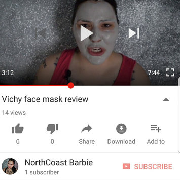 Photo of Vichy Mineral Pore Purifying Facial Clay Mask uploaded by Barbie B.