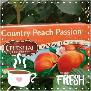 Celestial Seasonings Country Peach Passion Caffeine Free Herbal Tea - 20 CT uploaded by Megan K.