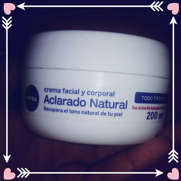 Photo of NIVEA Natural Tone Creme uploaded by Laura Maolli S.
