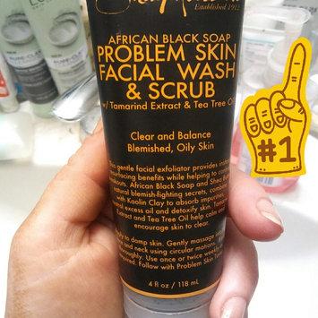 Photo of SheaMoisture African Black Soap Problem Skin Facial Wash & Scrub uploaded by Kristen L.