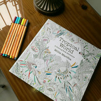 Tropical World: A Coloring Book Adventure uploaded by Carol A.