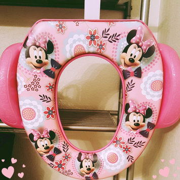 Photo uploaded to Ginsey Home Solutions Potty with Hook - Minnie Mouse by Elizabeth L.