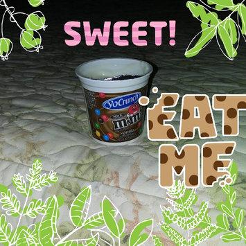 Photo of YoCrunch Yogurt Vanilla with M&M's uploaded by Leidi R.