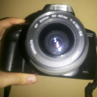 Canon EOS Rebel T3 12.2MP Digital SLR Camera with 18-55IS Lens - Black uploaded by Naiby H.