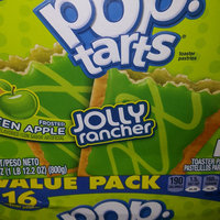 Kellogg's Pop-Tarts Jolly Rancher Frosted Green Apple Toaster Pastries uploaded by Judith Z.