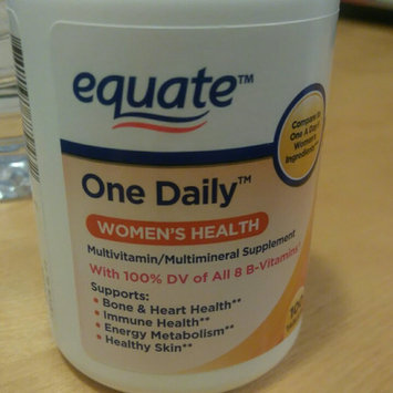 Equate One Daily Women's Multivitamin Multimineral Supplement uploaded by Ines G.