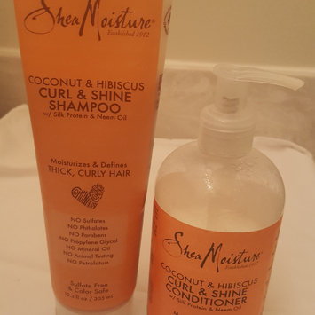 Photo of SheaMoisture Coconut & Hibiscus Curl & Shine Shampoo uploaded by Lycaness ..