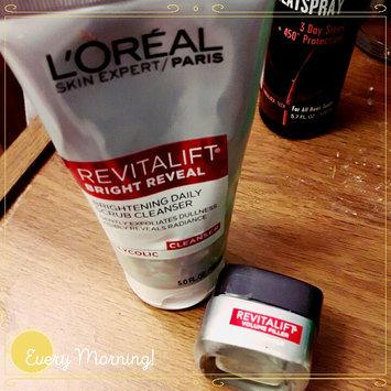L'Oréal Paris Revitalift Brightening Daily Scrub Cleanser uploaded by Christi G.