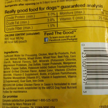 Photo of Pedigree® Choice Cuts in Gravy Grilled Chicken Flavor in Sauce Wet Dog Food uploaded by INDIA W.