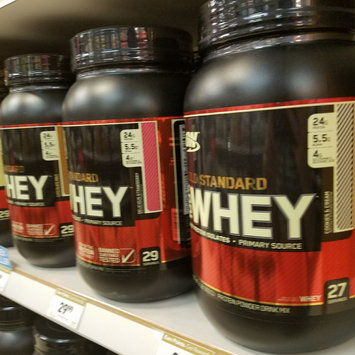 Photo of Optimum Nutrition Gold Standard Natural 100% Whey Protein uploaded by Heather V.