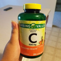 Spring Valley Chewable C Vitamin Multiple Fruit flavors Dietary Supplement 200 ct uploaded by jiwani c.