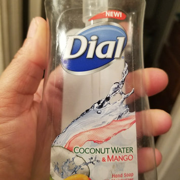 Photo of Dial Liquid Hand Soap, Coconut Water & Mango, 7.5 fl oz uploaded by Brooklyn D.