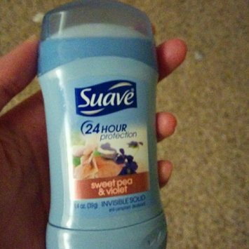 Suave® Sweet Pea & Violet Invisible Solid Anti-Perspirant Deodorant uploaded by Becca L.
